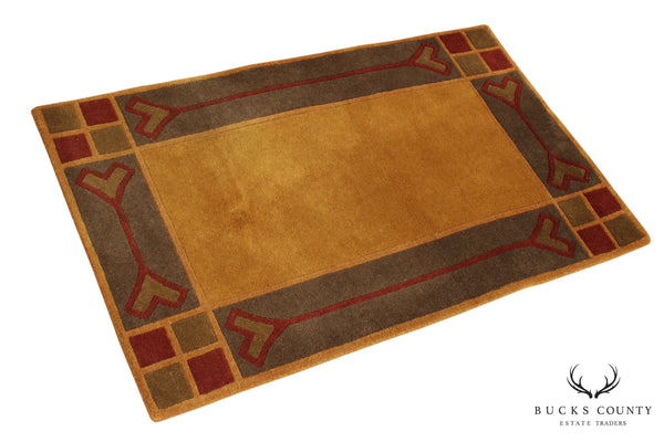 "Stickley Paradise Valley 2'6""x4' Throw Rug"