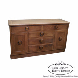 Drexel Circle D Southwest Ranch Oak Style Buffet Sideboard