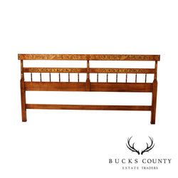 Hitchcock King Size Maple Stenciled Headboard