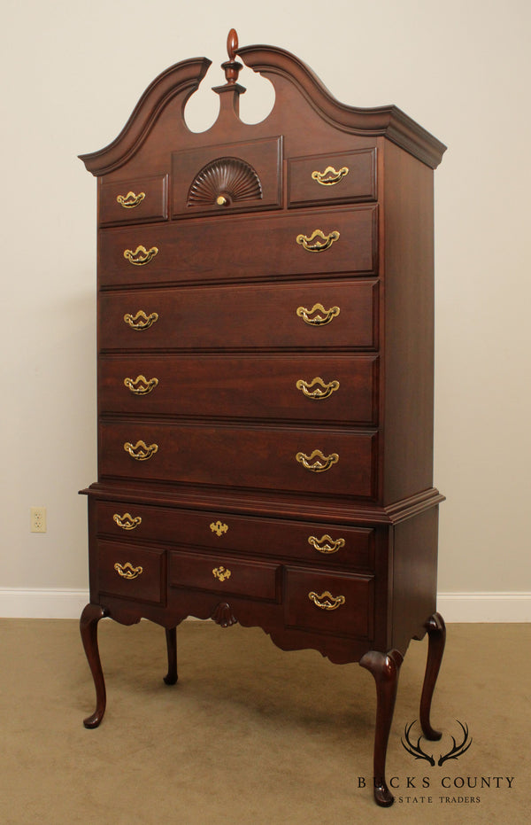 Thomasville Collectors Cherry Queen Anne Style Highboy