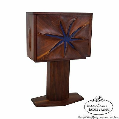 Robert Whitley Rare Studio Crafted Walnut Starfish Desk