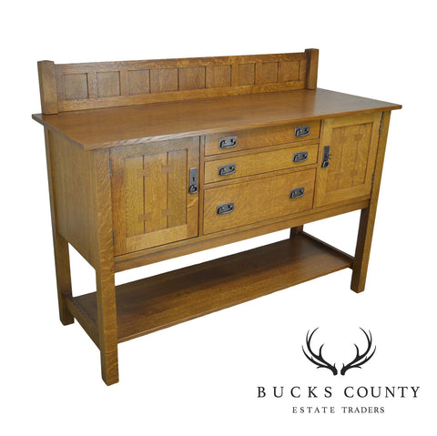 Stickley Mission Collection Oak Sideboard (B)