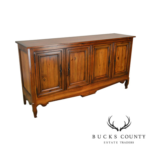 Acquisitions by Henredon French Country Style Sideboard Buffet Cabinet