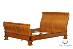 Thomasville Grand Classics Biedermeier Empire Style Queen Sleigh Bed