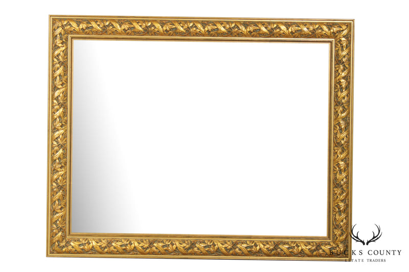 Quality Gold Frame Beveled Wall Mirror