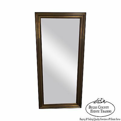 Quality Heavy Brass Frame OG Style Beveled Wall Mirror