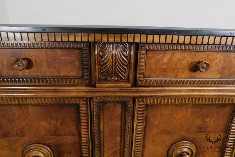 Century French Renaissance Louis XIII Style Slate Top Sideboard
