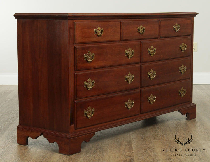 Knob Creek Solid Cherry 9 Drawer Dresser