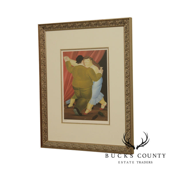 Fernando Botero 'Dancers' Limited Edition Framed Lithograph