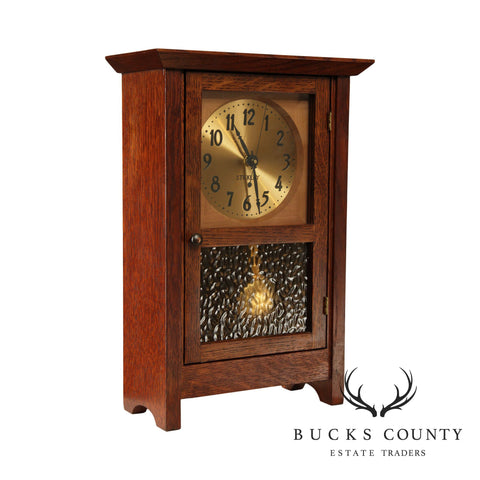 Stickley Mission Collection Oak Mantel Clock