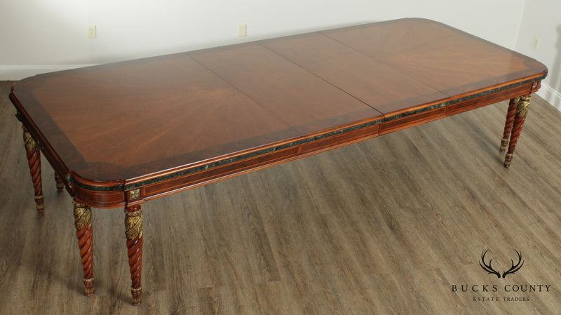 Henredon Grand Provenance French Louis XVI Style Walnut Dining Table