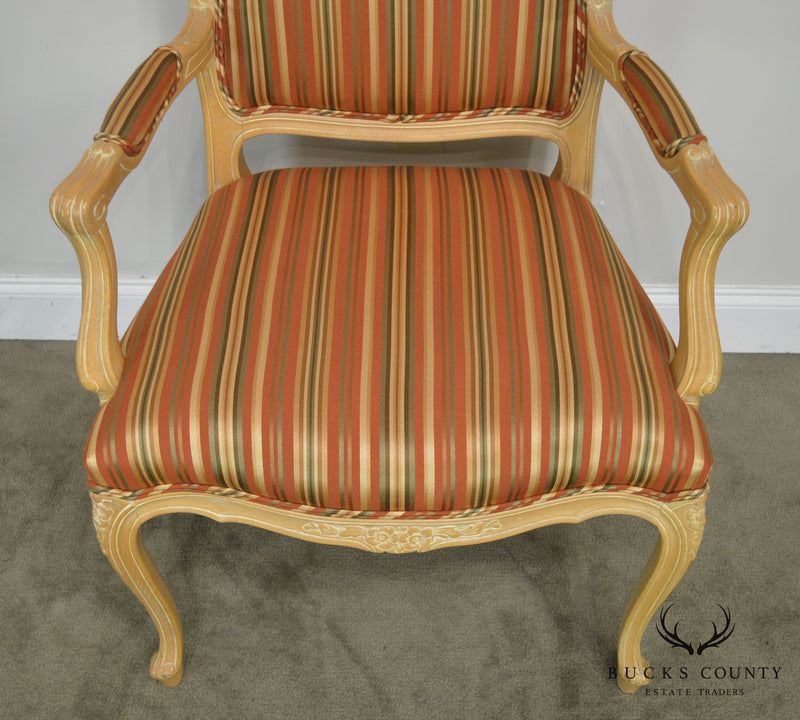 Ethan Allen Home Collection Louis XV Style Armchair Made in Italy