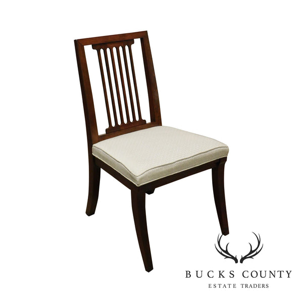 Quality Cherry Slat Back Side Chair