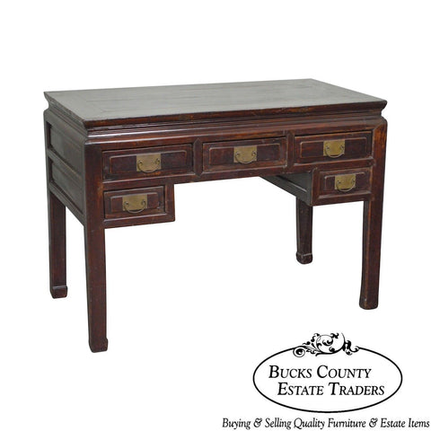 Antique Rustic Chinese Writing Desk
