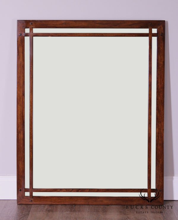 Mission Arts and Crafts Style Vertical Mirror