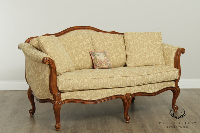 Ethan Allen French Louis XV Style Evette Loveseat