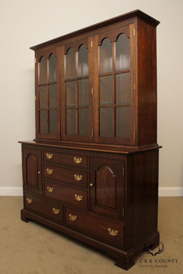 Stickley Cherry Buffet Base China Cabinet
