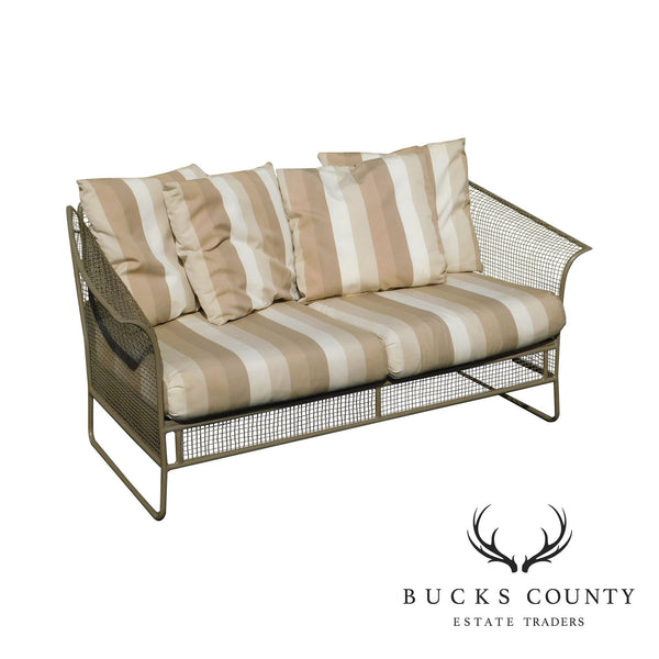 Woodard Sculptura Patio Sofa