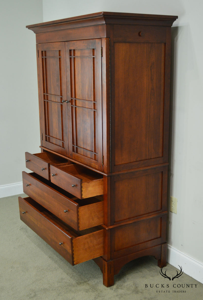 Lexington Bob Timberlake Arts and Crafts Collection Solid Cherry Armoire Chest