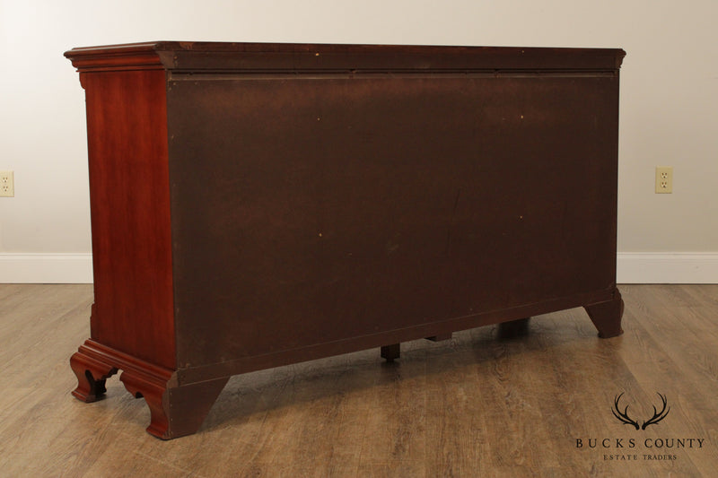 Thomasville Chippendale Style Cherry Dresser