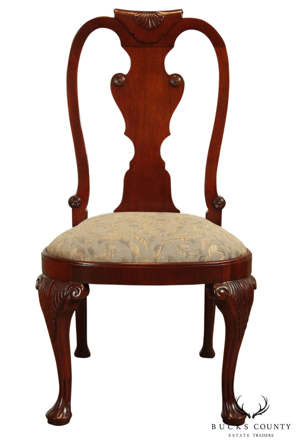 Baker Historic Charleston Collection Mahogany Queen Anne Side Chair