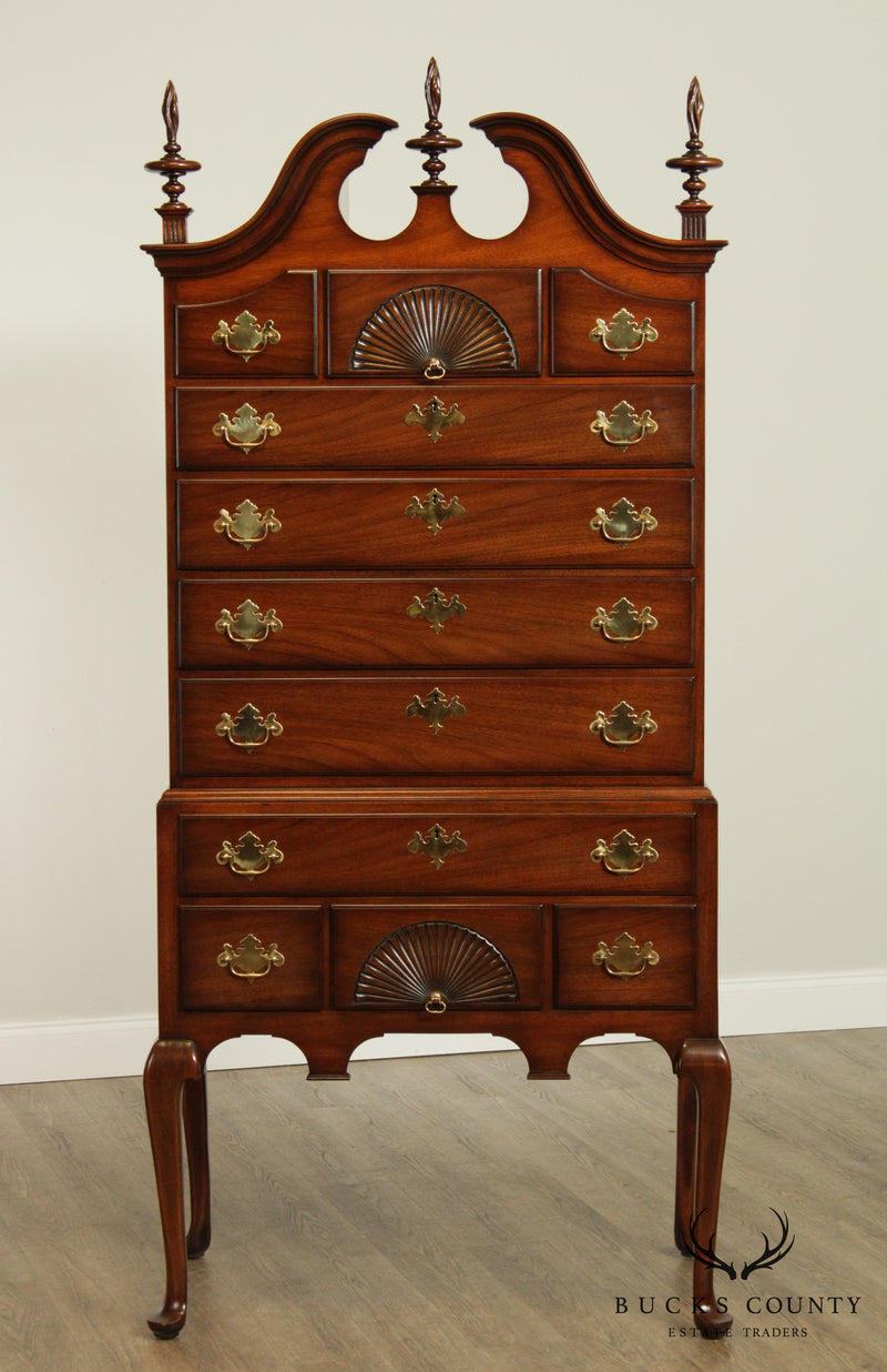Kindel Mahogany Queen Anne Highboy