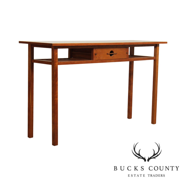 Studio Crafted Cherry One Drawer Console Table