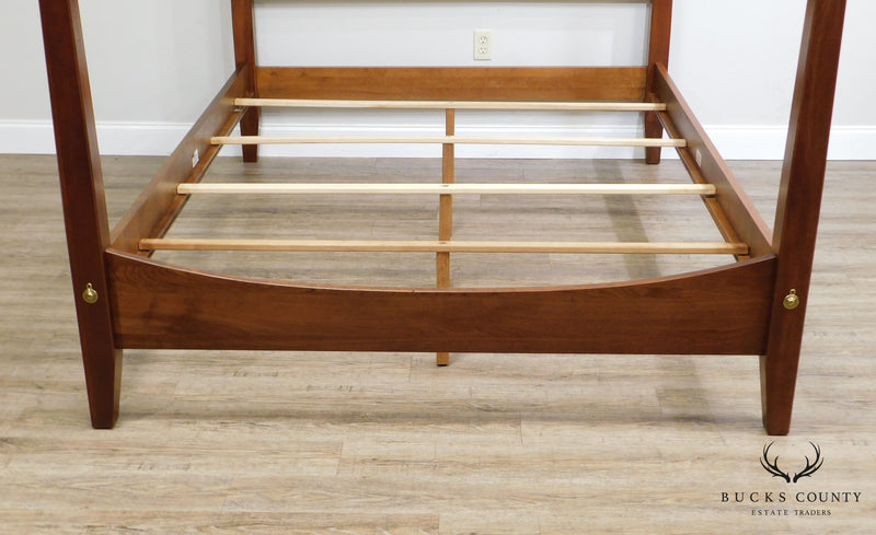 Ethan Allen American Impressions Cherry Queen Poster Bed