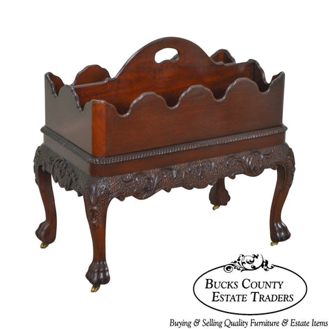 Baker Stately Homes Collection Baroque Georgian Style Magazine Stand Canterbury