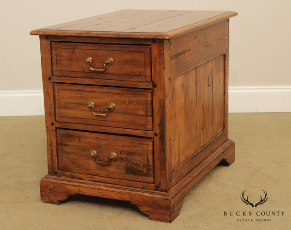 Ethan Allen Old World Treasures Collection 3 Drawer Chest, Nightstand