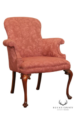 Southwood Mahogany Queen Anne Georgian Style Armchair
