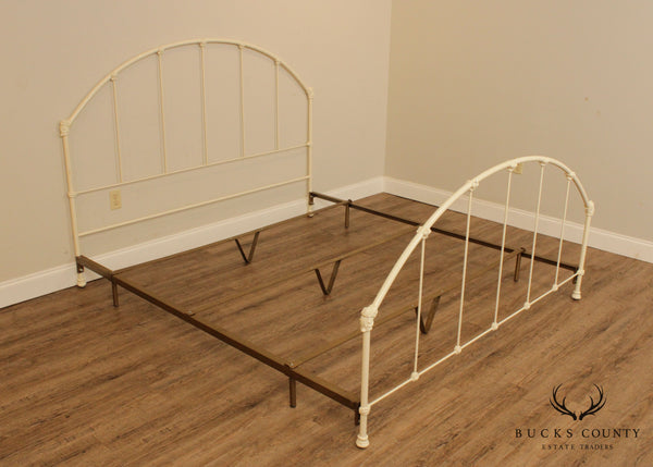 Victorian Style Quality Iron King Size Bed