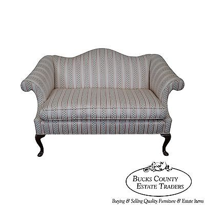 Harden Queen Anne 18th Century Style Loveseat (B)
