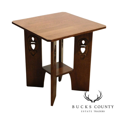 Stickley Mission Collection Oak Argyle Street End Table