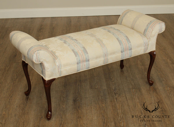 Queen Anne Style Window or Bedroom Bench