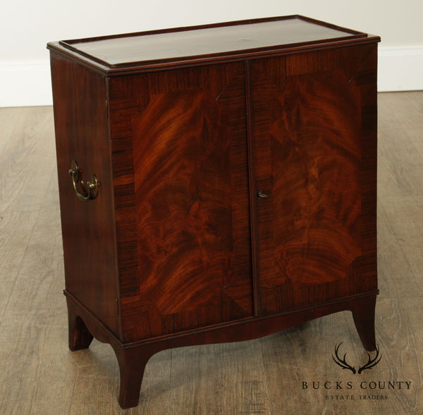 Hepplewhite Style Antique 19th Century Mahogany Valuables Chest
