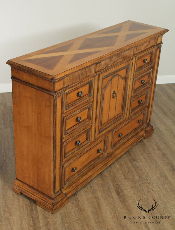 Drexel Heritage Villa Santina Collection Tall Bedroom Dresser