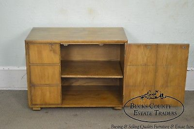 Henredon Artefacts Campaign Style Cabinet Chest