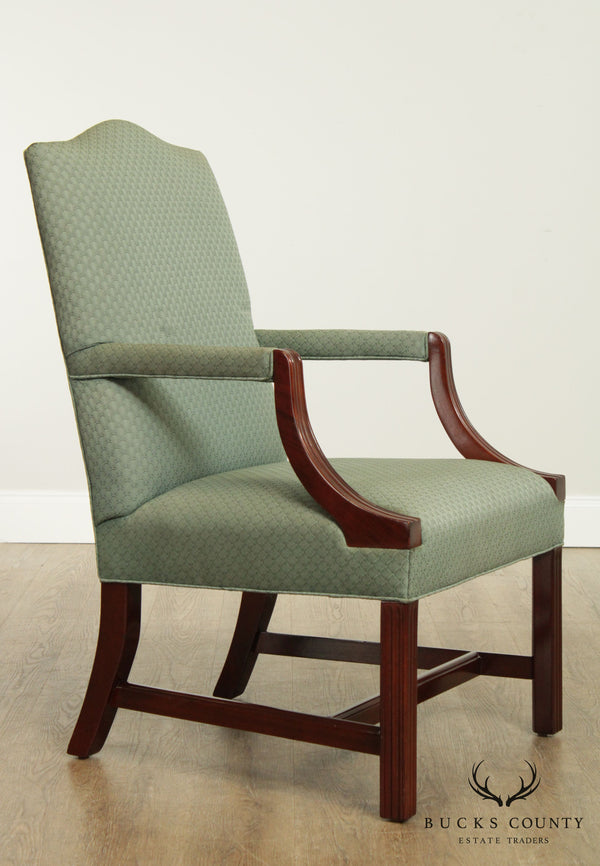 Hancock & Moore Mahogany Chippendale Style Armchair