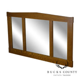 Stickley Mission Collection Oak Three Glass Mirror