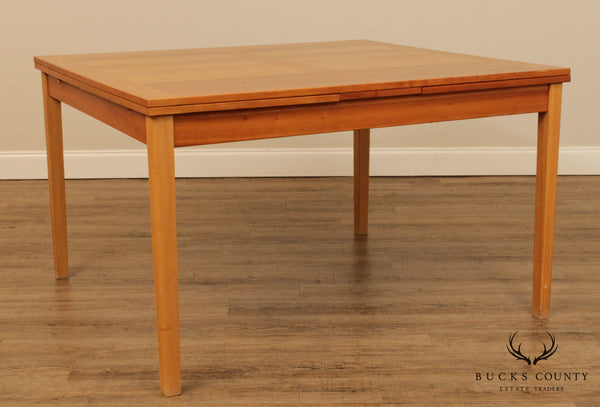 Danish Modern Style Cherry Refectory Dining Table