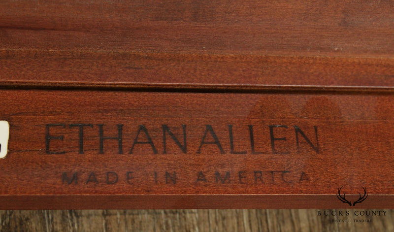 Ethan Allen British Classics Small Writing Desk Work Table