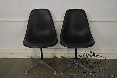 Herman Miller Set of 4 Mid Century Modern Eames PSC Chairs