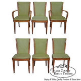 Heywood Wakefield Champagne Solid Maple Mid Century Modern Dining Chairs