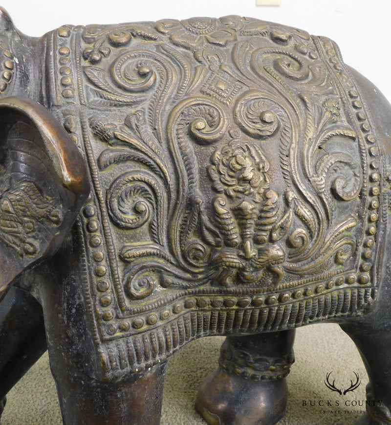 Quality Brass Indian Elephant Statue