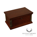Mahogany Table Top Jewelry Box