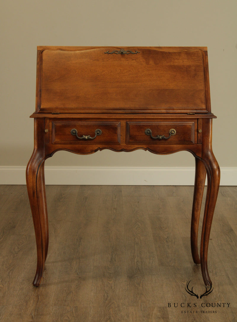 Ethan Allen Country French Slant Front Writing Desk