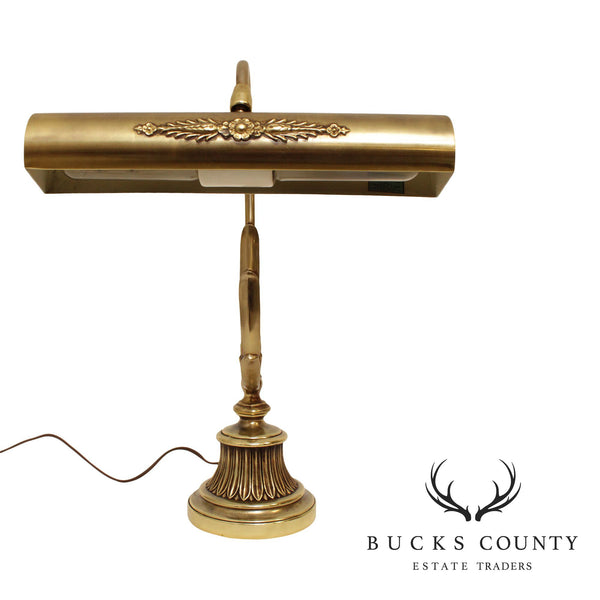 Laurel Lamp Co. Quality Brass French Style Desk Lamp