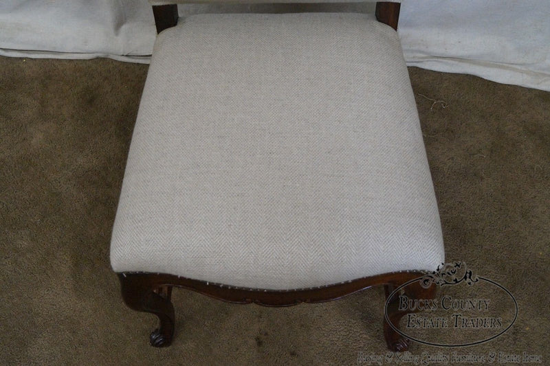 Jonathan Charles French Louis XV Style High Back Side Chair
