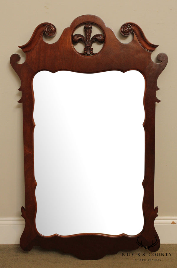 1940's Vintage Chippendale Style Wall Mirror